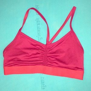 Other - Cute pink sports bra athletic yoga wear